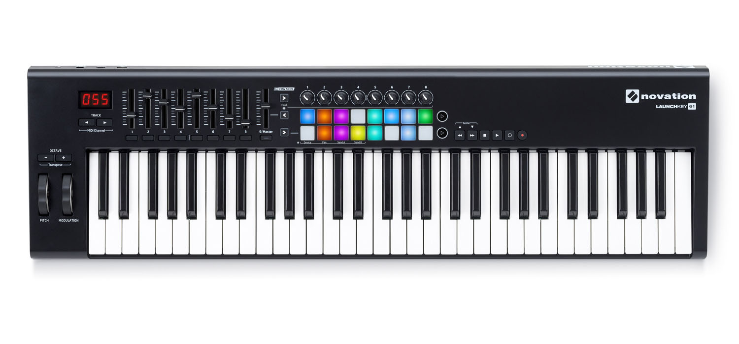 Novation launchkey 61 mk ll keyboard controller audio - Difference between ableton live lite and full version ...